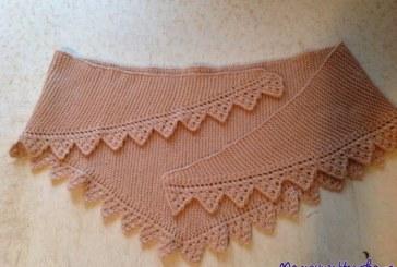 Бактус — треугольный шарф-косынка