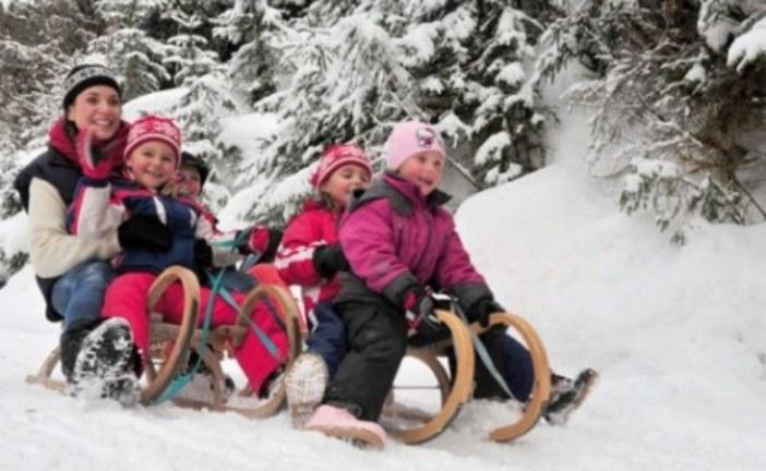 Досуг на предстоящих зимних каникулах