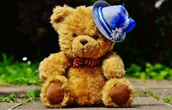 Большой плюшевый медведь в подарок на день святого Валентина