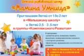Малышкина школа и комплексное развитие детей в Чехове