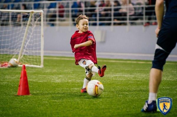 Детский футбол в Чехове