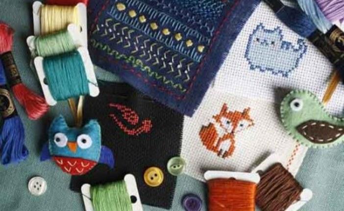 Разнообразие ниток для вышивания. Мулине
