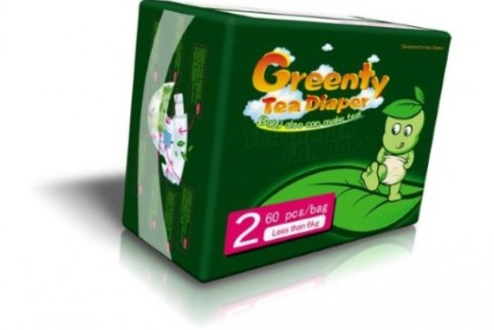 Подгузники «Greenty» — чайные!