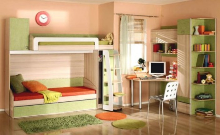Как оформить детскую комнату для мальчика и девочки