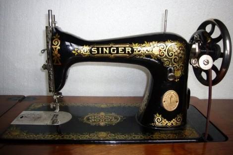 Новая жизнь старой швейной машинки Зингер