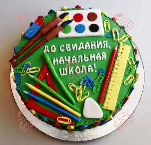 торт на выпускной в школу фото