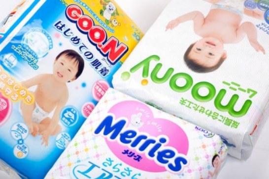 Чем отличаются между собой японские подгузники Marries, Goon и Moony?