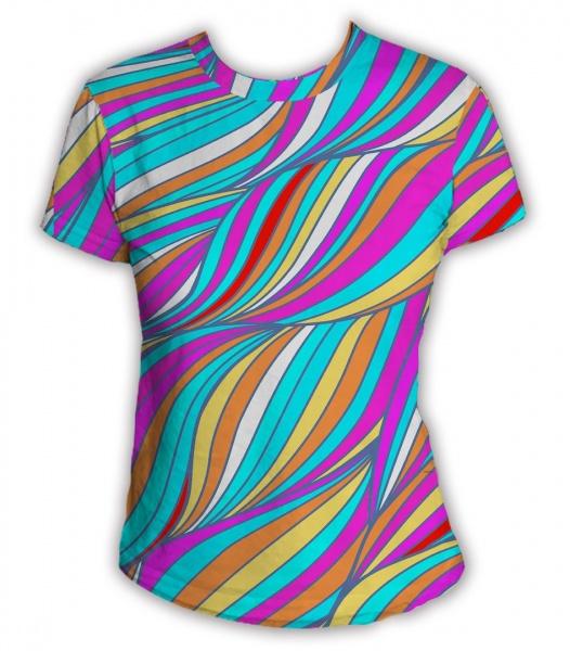 Яркие необычные футболки
