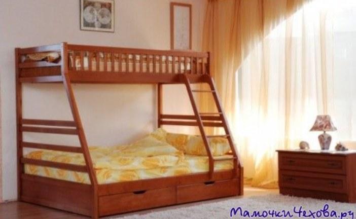 Выбираем двухъярусные детские кровати