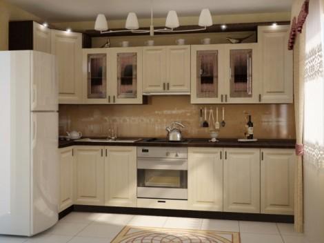 Кухонная мебель из МДФ