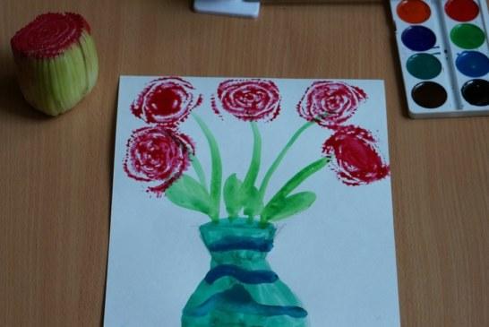 Рисование сельдереем