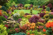 Ландшафтный дизайн дачного цветника
