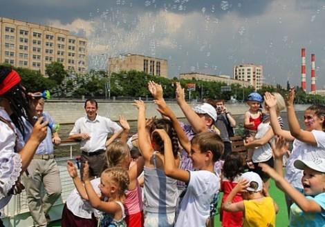 Путешествие с детьми по Москве