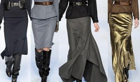 Какие фасоны юбок в моде