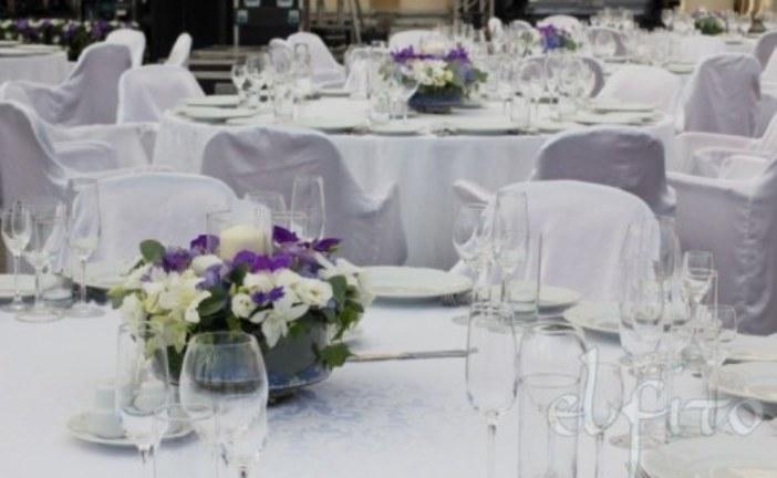 Украшение залов и площадок цветами: советы профессионалов