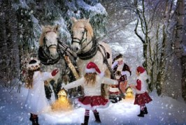 Заказ Деда Мороза и Снегурочки на дом в Чехове