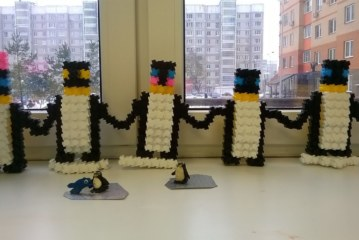«Весёлая стройка» — В гости к пингвинам!