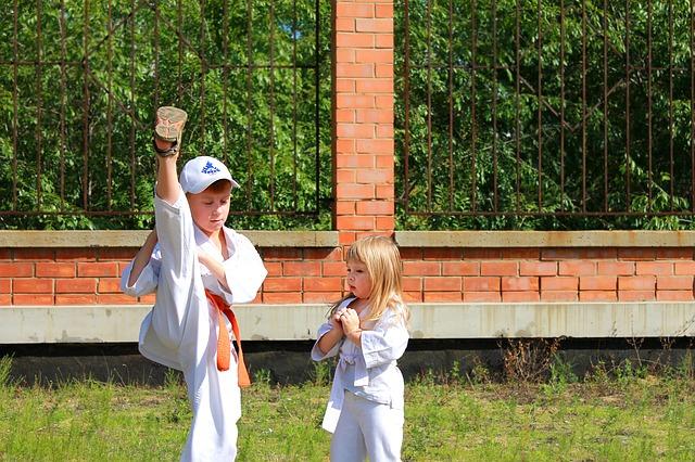 Каратэ для детей в Чехове