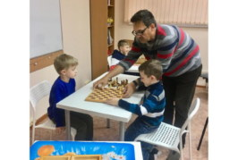 Шахматы в центре Wonderkid