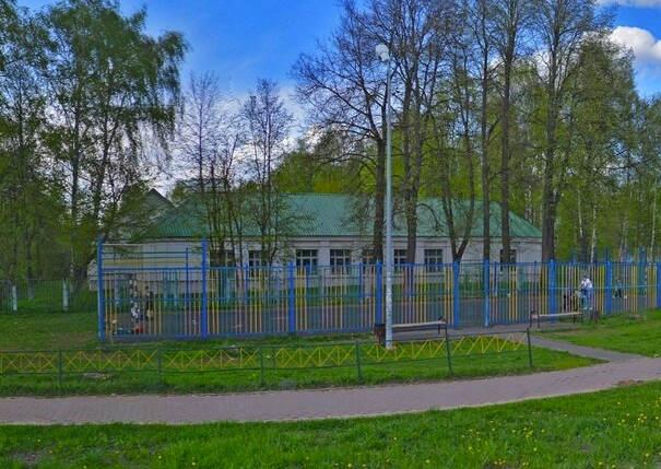 Чеховская ветеринарная станция в роще